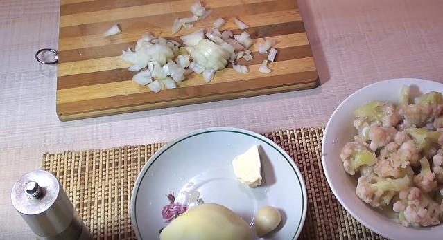 Домашний рецепт супа-пюре из цветной капусты со сливками