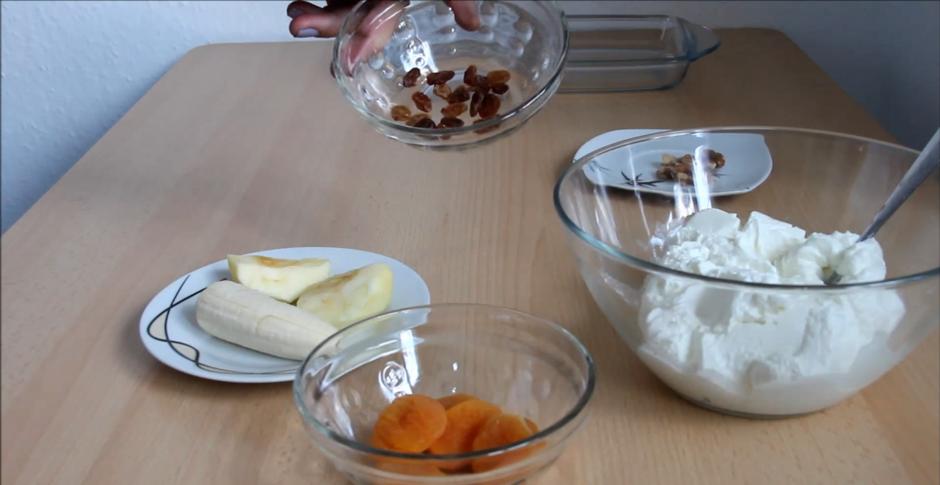 Домашний рецепт творожной запеканки без сахара