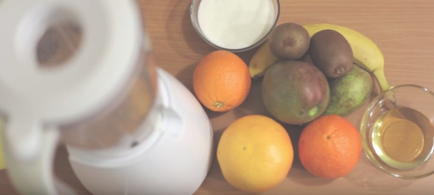 Домашний рецепт витаминного смузи