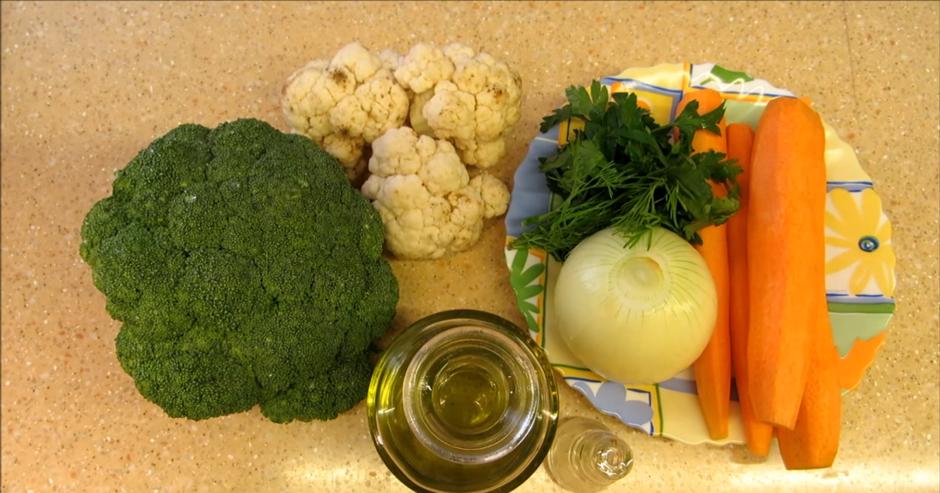 Домашний рецепт диетического овощного супа