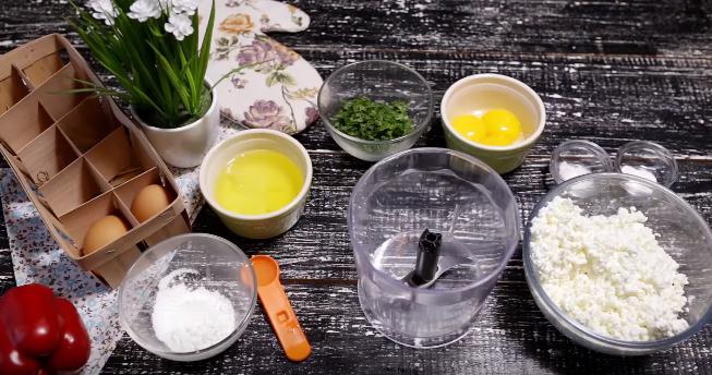 Домашний рецепт пышной творожной запеканки без муки и сахара