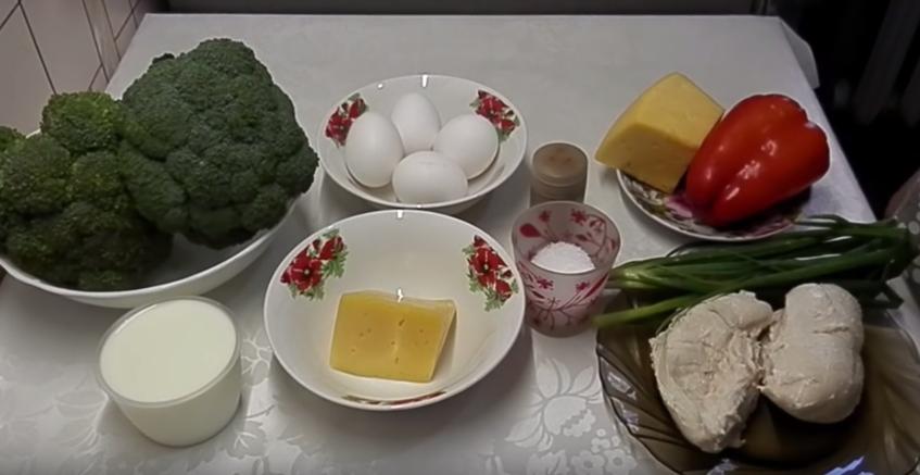 Домашний рецепт диетической пиццы из брокколи
