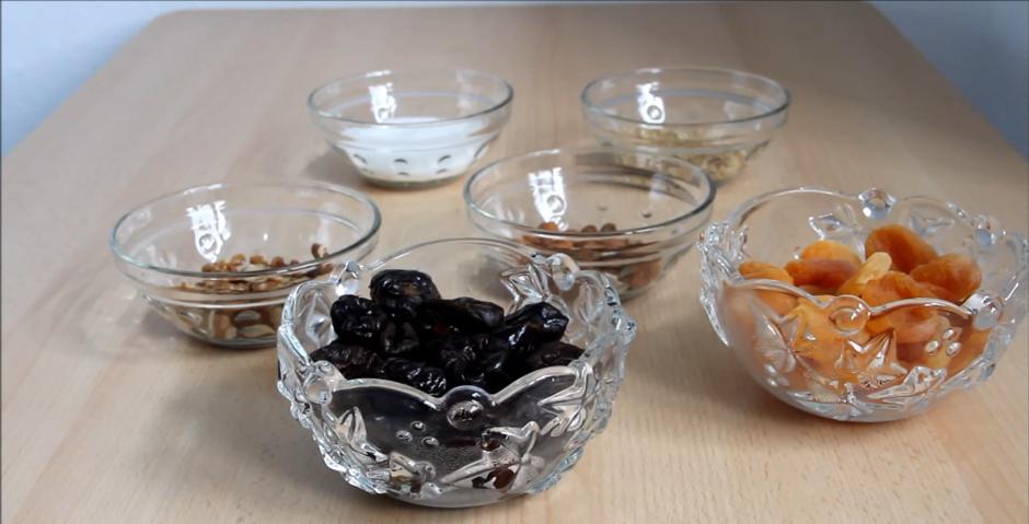 Домашний рецепт конфет из сухофруктов