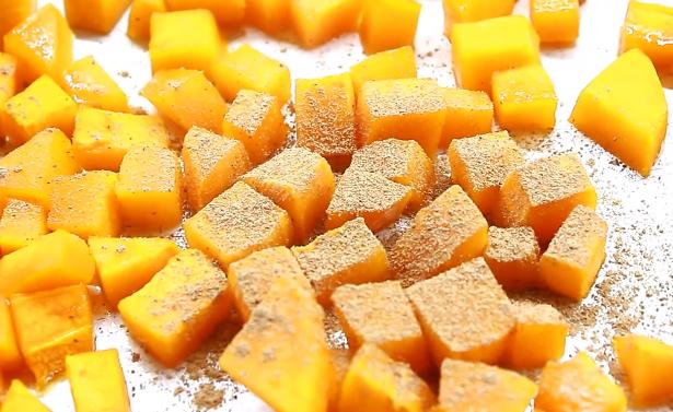 Домашний рецепт постного десерта из тыквы