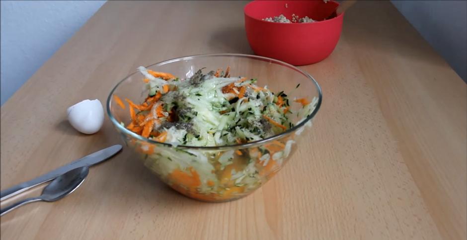 Домашний рецепт кабачковых оладий без жарки