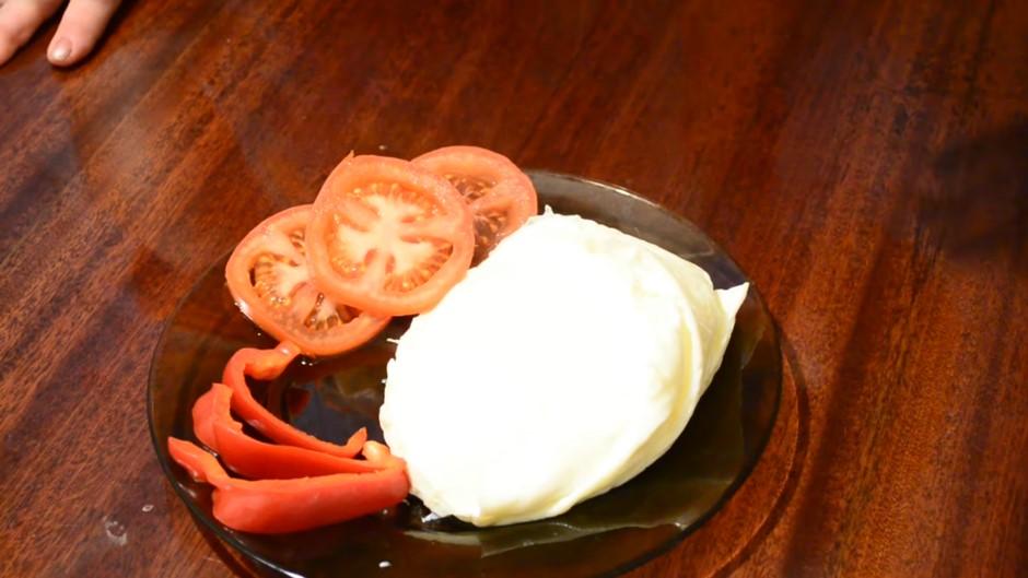 Домашний рецепт быстрого омлета без жарки