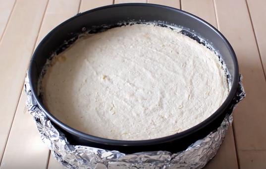 Домашний рецепт полезного чизкейка с вишней